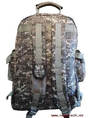 Mochila Tactica Swat Simil 5.11 Militar Camuflada Grande