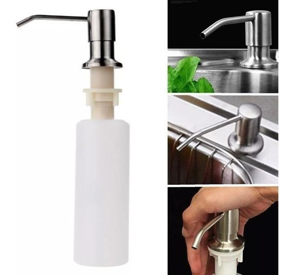 Dispenser Dosador Bancada Sabão Sabonete Líquido Detergente