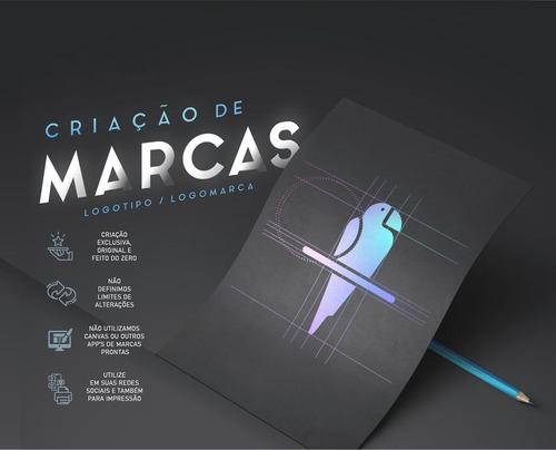 Imagem 1 de 3 de Criação De Marcas - Logotipo/logomarca