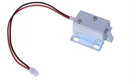 Mini Trava Elétrica Solenóide - Arduino