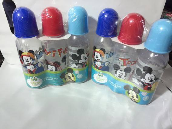 3 Teteros Disneys Originales De 9 Oz Ojo Pregunte