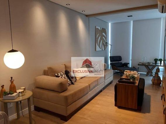 Apartamento Com 2 Dormitórios Para Alugar, 82 M² Por R$ 3.500/mês - Jardim Das Colinas - São José Dos Campos/sp - Ap2618