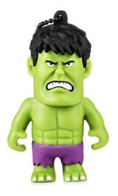 Pen Drive Vingadores Marvel Hulk - 8gb