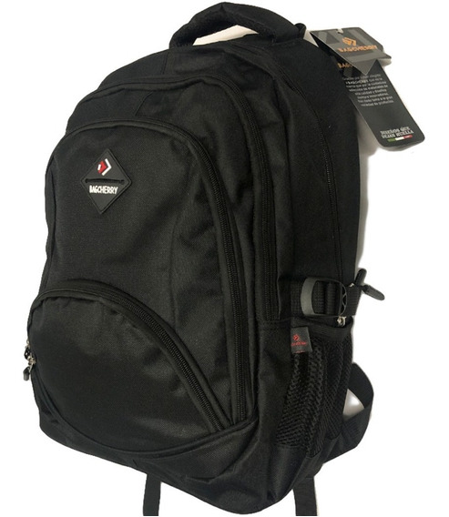 Mochila Cherry School Para Notebook Negro
