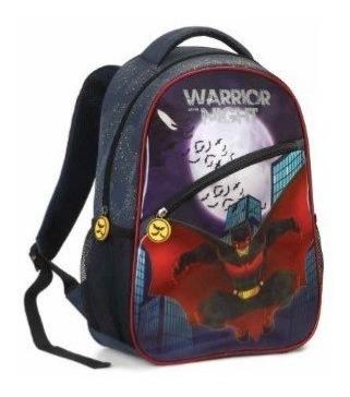 Mochila Infantil Warrior Ref 12411 Masculina Seanite Heróis