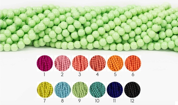 Jadecito 8mm Collar Bisuteria Pulsera Bisuteria 1 Tira