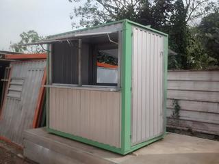 Mini Container Desmontavel Janela Balcão Atendimento Novo