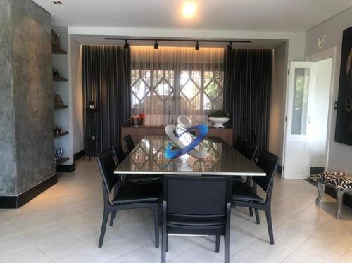 Casa Com 4 Dormitórios À Venda, 670 M²  - Bosque Dos Eucaliptos - São José Dos Campos/sp - Ca0928