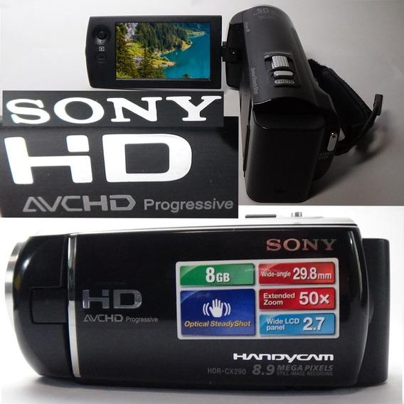 Filmadora Sony Hdr-cx290 Alta Definição De Imagem Full Hd