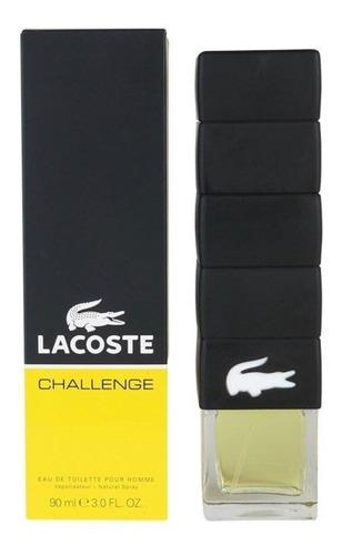 Perfume Hombre  Lacoste Challenge Original 90ml  Original