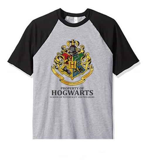 Remera Hogwarts Harry Potter Property Mod 12 Niños Infantil