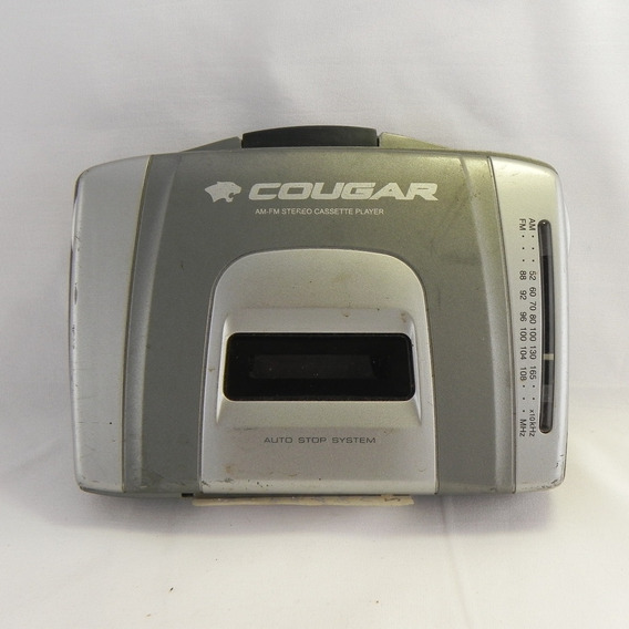 Rádio Gravador De Fitas Cougar Cpc 55 - Usado C/ Defeito