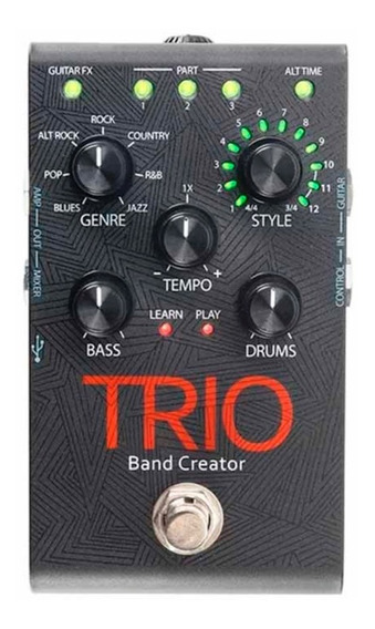 Pedal Loop Trio Band Creator Digitech Pedaleira Guitarra