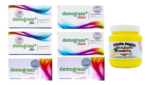 Kit Demograss 2 Plus, 2 Clásicos + 2 Premier + 1 Chupapanza
