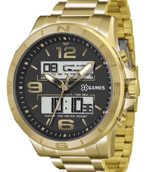 Relógio X-games Masculino Xmgsa003 P2kx C/ Garantia E Nf