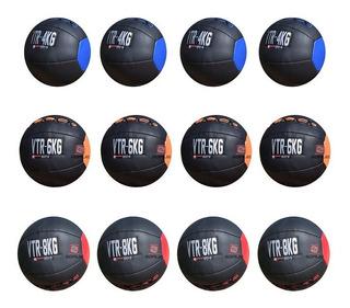 Balón Pelota Medicinal Entrenamiento,wall Ball,12 Pza