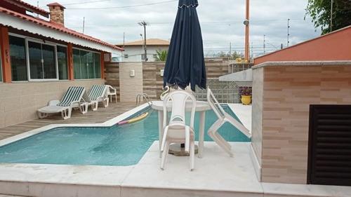 Casa Em Estancia Sao Jose, Peruíbe/sp De 197m² 4 Quartos Para Locação R$ 3.500,00/mes - Ca978838