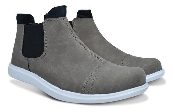Bota Zapato Vestir Urbano Náutico Hombre Serafinne Wolf 194