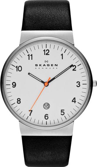 Relógio Skagen Couro - Skw6024/1bn