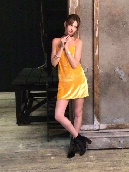 Zara México Vestido En Mercado Libre Terciopelo V0n8wmn