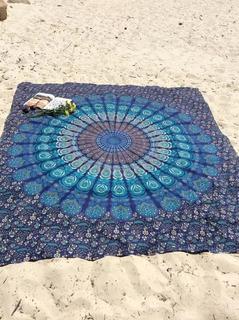 Mandala Tapestry Tapiz Cortina Tapete Sabana Indue