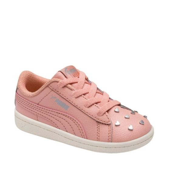 Tenis Casual Marca Puma Color Rosa Para Niña Original Con Envio Gratis Nx1061 A