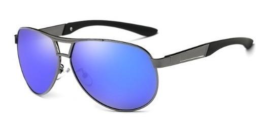 Óculos De Sol Hdcrafter Aviador Original Com Proteção Uv400