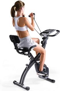 Maxkare Bicicleta Estática Spinning Magnética Plegable