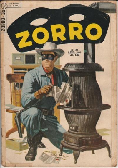 Zorro N.°38 Abril 1957 Ebal Raríssima Jm.gibis-raros