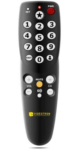 Control Tv Universal Videotron Nuevo