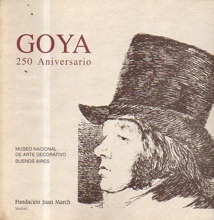 Goya 250 Aniversario-fundacion Juan March-libreria Merlin