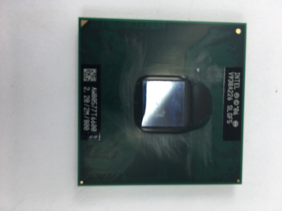Processador Intel Core2duo T6600 Para Dell Inspiron 1545