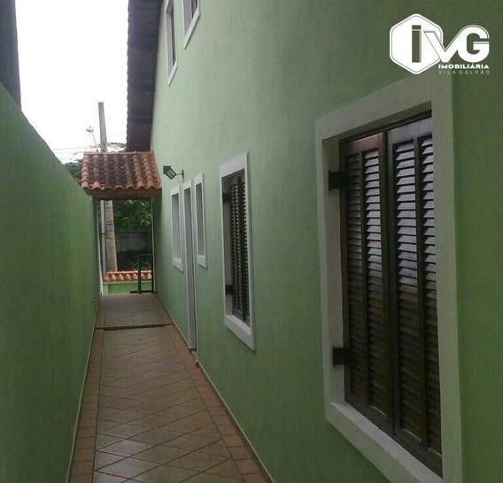 Sobrado Com 4 Dormitórios À Venda, 125 M² Por R$ 440.000 - Parque Continental - Guarulhos/sp - So0376