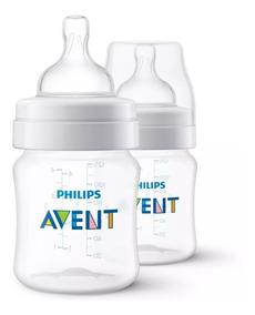 Conjunto De 2 Mamadeira Para Bebê 125ml Cada Philips Avent