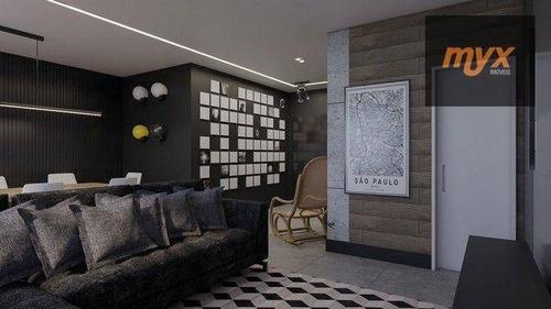 Imagem 1 de 13 de Apartamento Com 1 Dormitório À Venda, 74 M² Por R$ 800.000,00 - Embaré - Santos/sp - Ap6224