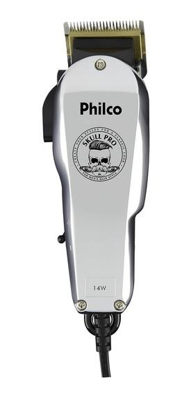 Cortador De Cabelo Philco Skull Pcr05s 14w 220v