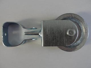 Suporte Pino C/ Roldana De Alumínio C/ Abraçadeira D