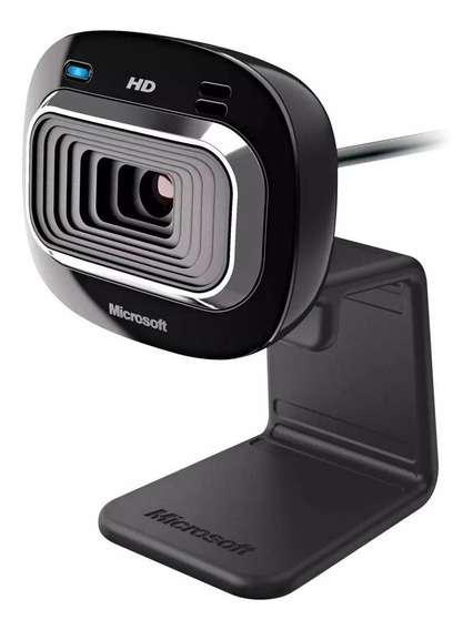 Webcam Microsoft Lifecam Hd-3000 Hd 720p Zoom 4x Preta