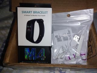 Kit Sport 2- Smartband M4 + Fone Bluetooth