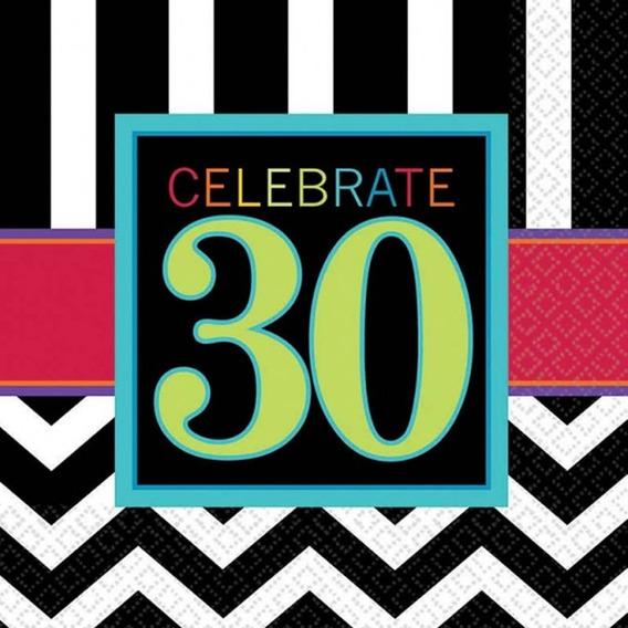 Servilleta Celebración 30 Años
