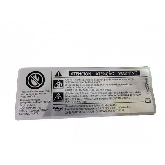 Etiqueta Identificacao Excesso Oleo
