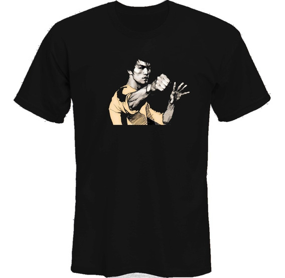 Remeras Bruce Lee Dragon Logo *mr Korneforos*