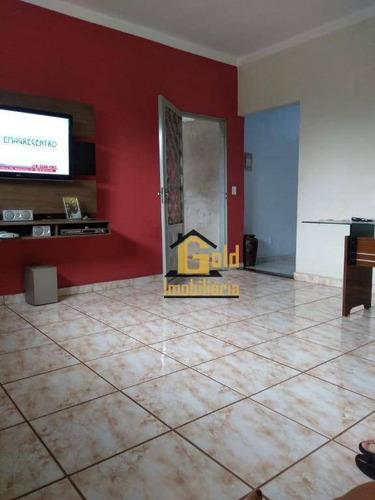 Casa Com 3 Dormitórios À Venda, 44 M² Por R$ 224.700 - Jardim Paiva - Ribeirão Preto/sp - Ca0626