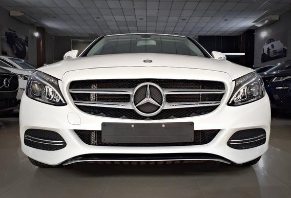 Mercedes Benz C 180 1.6. Branco 2015/15