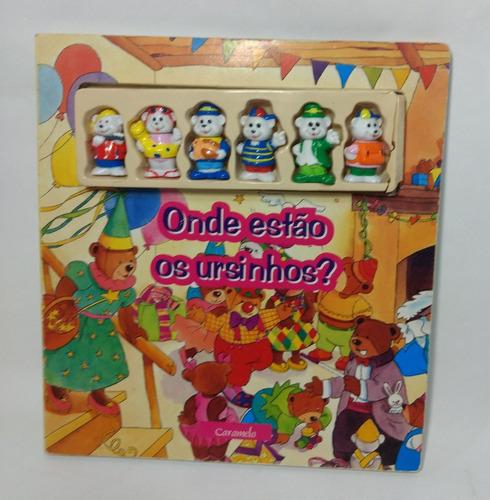 Livro Infantil Onde Estão Os Ursinhos? Editora Caramelo