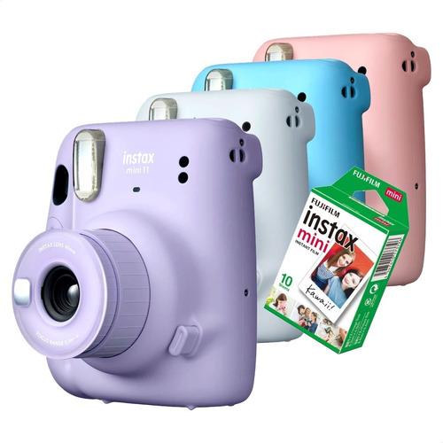 Câmera Instax Mini Instantânea Fujifilm Lançamento +10 Fotos