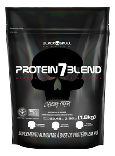 Whey Protein 7 Blend - Proteína Concent. Iso - 1,8kg - Refil
