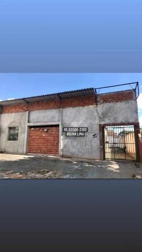 Barracão À Venda Por R$ 368.000 - Na Região Da Vila A Em Avenida Principal- Foz Do Iguaçu/pr - Ba0008