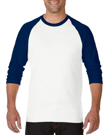 Playera Tipo Raglan 3/4 Adulto
