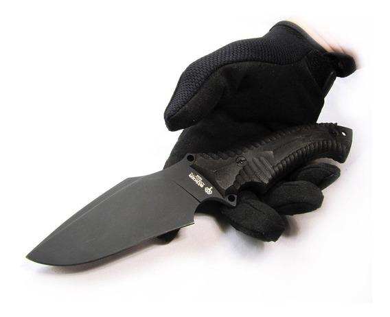 Cuchillo Boker Buffalo Black Táctico Supervivencia Caza